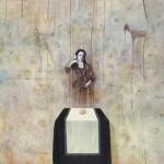 Andrej Pavlič PALIMPSEST 1998, olje, platno, 95 x 120 cm