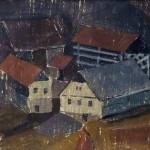 Franc Kopitar PODKUM 1964, monotipija, 43,5 x 56 cm