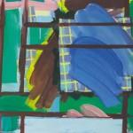 Jure Zadnikar KOMPOZICIJA II. 1992, olje, platno, 50 x 65 cm