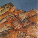 Martina Braun HRIBI 2002, meš. tehn., platno, 100 x 75 cm