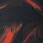 Metka Krašovec BERKMANDELC 1968, olje, platno, 77 x 59 cm