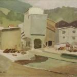 Milan Rijavec SEPARACIJA 1964, olje, platno, 48 x 60 cm