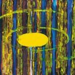 Samo Perpar MEDENI MACESNI 1996, akril, platno, 70 x 100 cm